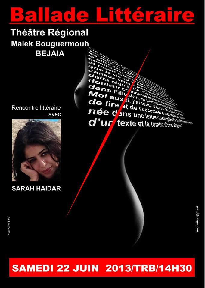 Sarah HAIDAR l'invitée de Bgayet le samedi 22 juin 2013 sarah-haidar