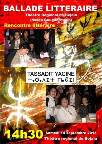 Tassadit Yacine à Bgayet le 14 sept à 14 h 30 dans Debats litteraires tassadit_yacine
